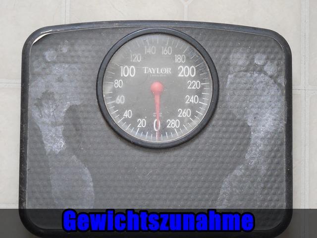 Gewichtszunahme